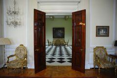 Residence of Serbian Royal family Karadjordjevich in Belgrade Stock Image