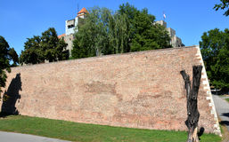 BELGRADE, SERBIA - AUGUST 15, 2016: Architecture details of Kalemegdan fortress in Belgrade. Serbia stock image