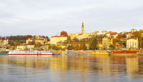 Belgrade, Serbia. Belgrade, capital of Serbia, view from the river Sava stock images
