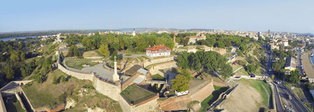 Belgrade Serbia fästning arkivfoto