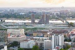 BELGRADE, SERBIA  JULY 22, 2017, Belgrade Waterfront construction site Stock Photo
