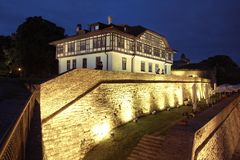 Cultural Monument Protection Institute In Belgrade, Serbia. BELGRADE, SERBIA - JULY 19, 2018: Cultural Monument Protection Institute in Kalemegdan Park was built royalty free stock photo