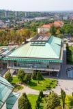 Belgrade, Serbia 11/09/2017: krajowa biblioteka Belgrade Zdjęcie Stock