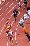 Athletics - Man 400m, MASLAK Pavel. BELGRADE, SERBIA - MARCH 3-5, 2017: Man 400m, MASLAK Pavel, European Athletics Indoor Championships in Belgrade, Serbia Royalty Free Stock Photos