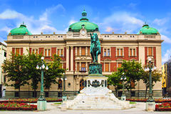 Free BELGRADE, SERBIA - MAY 10 : Prince Mihailo Monument On May 10, 2016 In Belgrade. It Is Located In The Main Republic Square In Bel Stock Photography - 90495672
