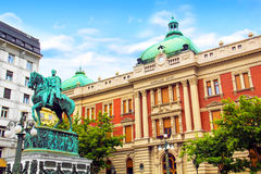 Free BELGRADE, SERBIA - MAY 10 : Prince Mihailo Monument On May 10, 2016 In Belgrade. It Is Located In The Main Republic Square In Bel Royalty Free Stock Photos - 90495688