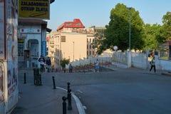 Morning in Belgrade Stock Image
