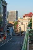 Morning in Belgrade Stock Photo