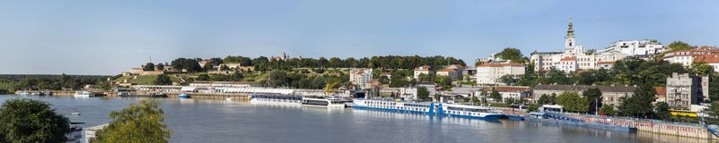 Belgrade, Serbia. Panoramic view at Belgrade, Serbia royalty free stock image