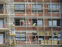 Belgrade Waterfront construction site Stock Images