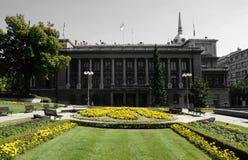 BELGRADE, SERBIE - 15 AOÛT 2016 : Bureau du président de la République de la Serbie à Belgrade photos libres de droits