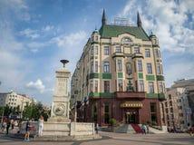 BELGRADE, SERBIE - 10 JUIN 2017 : Hôtel Moskva dans un après-midi ensoleillé Cet hôtel est l'un des hôtels les plus anciens à Bel Photos libres de droits