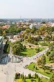 Belgrade, Serbie 11/09/2017 : Parc de Karadjordje à Belgrade, Serbie Image libre de droits