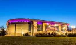 BELGRADE SERBIEN - DECEMBER 27: Kombank arena på December 27, 20 royaltyfri foto