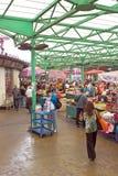 Belgrade - Shoppers at a farmers market Zeleni Venac Stock Photo