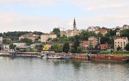 Belgrade skyline, Serbia Stock Images
