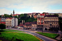 Belgrade skyline Stock Photography