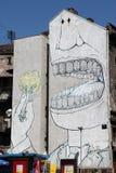 Belgrade stads- konst Arkivfoton