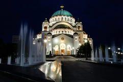 Belgrade tample obrazy stock