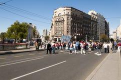Belgrade Terazije stock photo
