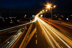 Belgrade trafik Fotografering för Bildbyråer