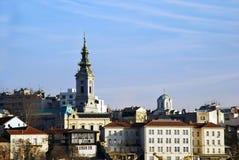 Belgrade urban view Royalty Free Stock Photos