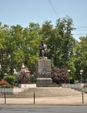Belgrade Vuk Monument Arkivbilder