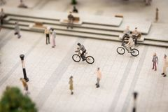 Miniature people royalty free stock photography