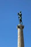Belgrade winner monument. On Kalemegdan fortress Stock Image