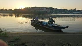 Belgrade wschód słońca Fotografia Stock