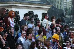 Belgrade zombie walk Royalty Free Stock Image