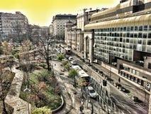 Belgrado céntrica Fotos de archivo