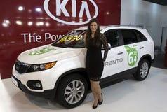 Carro Kia Sorento Fotografia de Stock