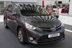 Verso de Toyota do carro imagens de stock