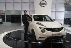 Carro Nissan Nismo Imagens de Stock