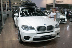 Auto BMW X5 xDrive40d Royalty-vrije Stock Foto