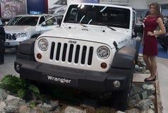 Auto Jeep Wrangler Rubicon Stock Afbeeldingen