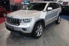 Grote Cherokee van Jeep van de auto Stock Foto