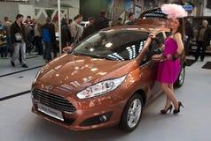 Festa di Ford dell'automobile nuova Immagini Stock