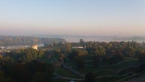 Belgrado na manhã Fotografia de Stock Royalty Free