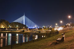 Belgrado Serbia fotografia stock libera da diritti