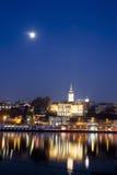 Belgrado Serbia immagine stock