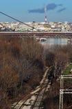 Belgrado in Serbia fotografie stock