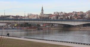 Belgrado Serbia almacen de metraje de vídeo