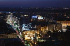 Belgrado, Serbia, el 22 de julio de 2017 Centro de ciudad de Belgrado Fotografía de archivo