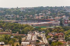 Belgrado, Serbia 11/09/2017: Estadio de la estrella roja del club del fútbol Imagen de archivo