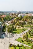 Belgrado, Serbia 11/09/2017: Parco di Karadjordje a Belgrado, Serbia Immagine Stock Libera da Diritti