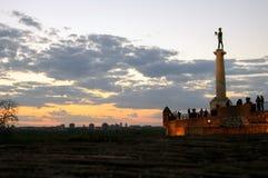 Belgrado vitorioso Foto de Stock Royalty Free