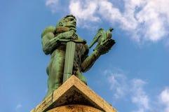 Belgrado vitorioso/vencedor foto de stock royalty free