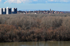 Belgrads Panorama Lizenzfreies Stockbild
